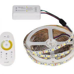 Светодиодные ленты 12В с регулируемой температурой свечения и аксессуары
