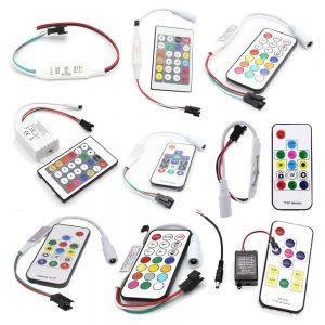 Контроллеры для пиксельных светодиодных лент