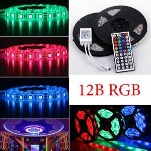 Многоцветные светодиодные ленты RGB и аксессуары