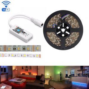 Многоцветные светодиодные ленты 12В RGBW(C) и аксессуары